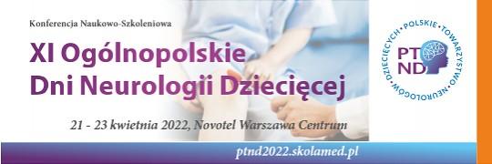 XI Ogólnopolskie Dni Neurologii Dziecięcej
